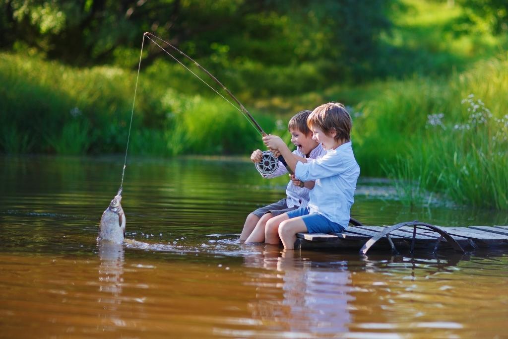Eslovenia con ni os tarjeta familiar con descuentos incluida for Kids fishing nets