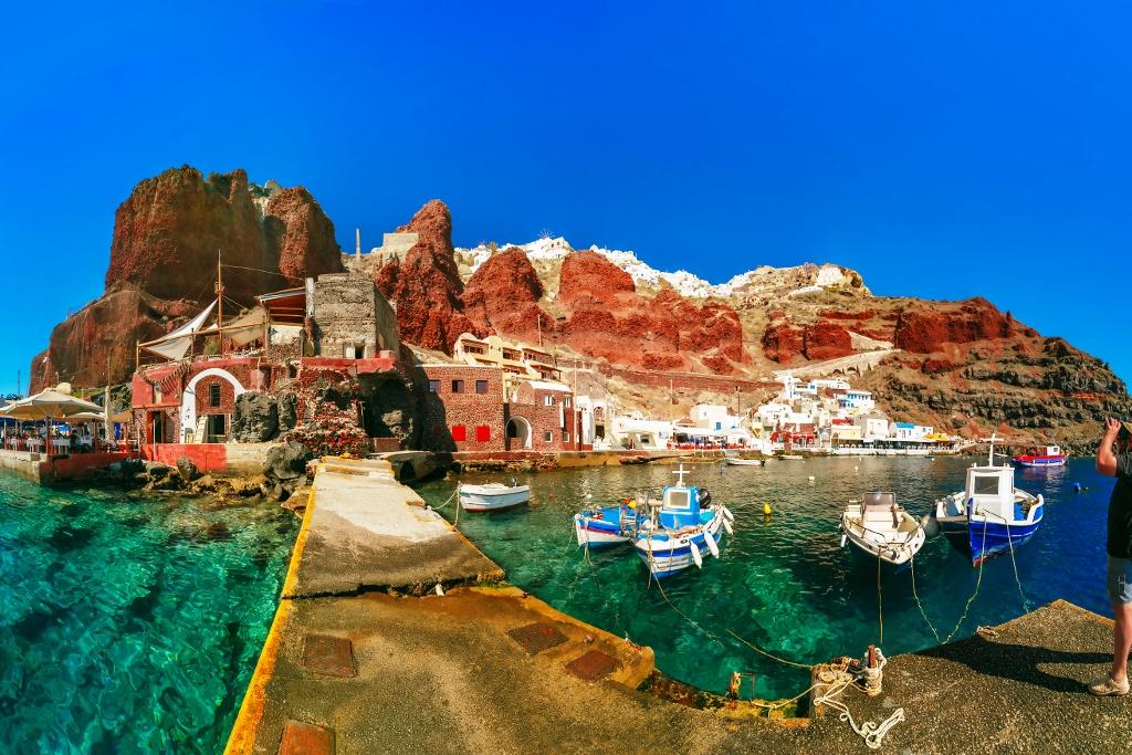 Grecia cl sica y playas de santorini combina la historia for Oficina de turismo de grecia
